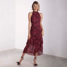 Waterloo Bridge Ruffle Dress