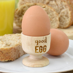 Good Egg Wooden Egg Cup