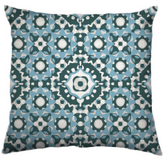 African Daisy Tribal Cushion Cover in Wanaka