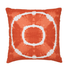 Circle tie dye cushion cover (various colours)