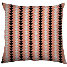African Choje Tribal Cushion Cover in Salmon