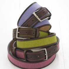Coloured belt