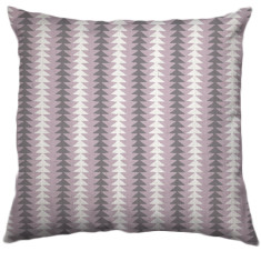 African Choje Tribal Cushion Cover in Rosewater