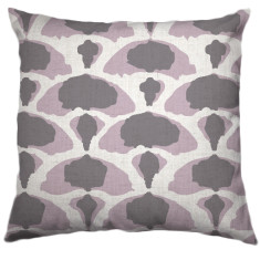 African Desert-Cabbage Tribal Cushion Cover in Rosewater