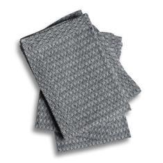 Table napkins in herringbone