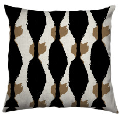 African Boabab Tribal Cushion Cover in Kernel