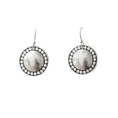 Marrakech Hanging Earrings in Sterling silver