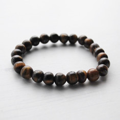 Tiger Eye Natural stone stretch bracelet