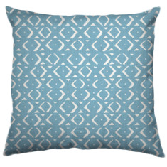 African Mudcloth Tribal Cushion Cover in Wanaka