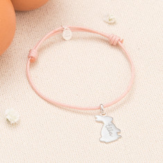 Personalised Bunny Bracelet