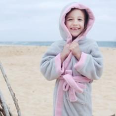 Luna pink robe