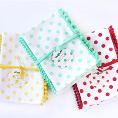 Polka dot tea towels multi buy