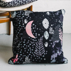 Night love cushion cover