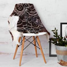 Antika cáscara black & brown rug