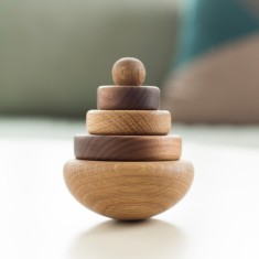 Toni Wooden Spinning Top