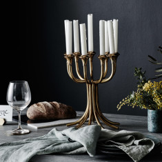 Candelabra In Brass