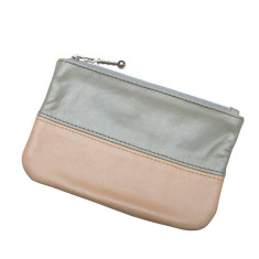 Aida small handcrafted leather pouch (various colours)