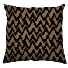 African Chevron Tribal Cushion Cover in Kernel