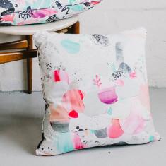 Moon reef cushion cover