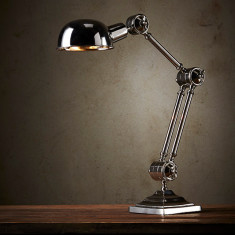 Como nickel table lamp