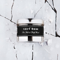 Filthy Velvet Surf Bum - sea salt and driftwood scented candle