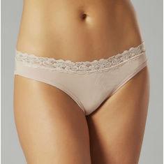 Bamboo bikini underwear in taupe