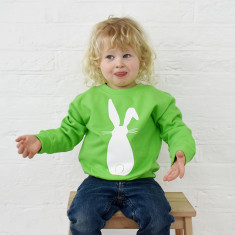 Rabbit children's sweatshirt jumper