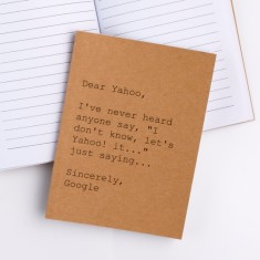 Dear Yahoo A6 notebook