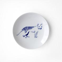 Mamezara: Tasmanian Tiger Plate