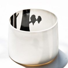 Anna-Carin Dahl birds tea light
