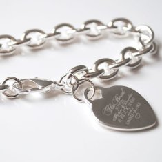 Mother of the Bride engraved bracelet