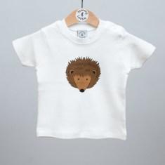 Babies short sleeve t shirt hedgehog