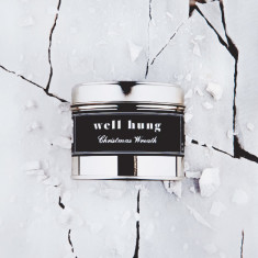 Filthy Velvet Well Hung - Christmas wreath scented candle