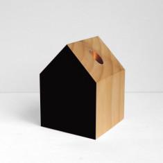 Home vase in black