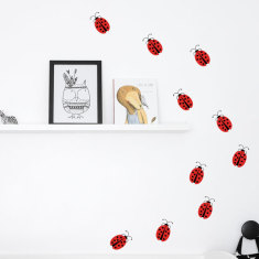 Ladybugs Wall Decal