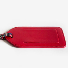Red Billie luggage tag