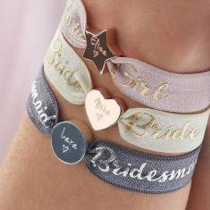 Personalised Wedding Bracelets