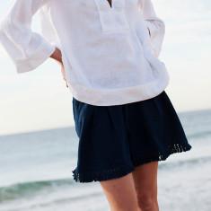 Lar fringe shorts