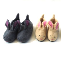 Felt Rabbit Slippers