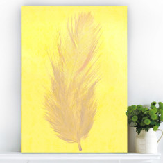 Machu Picchu yellow ready to hang canvas art