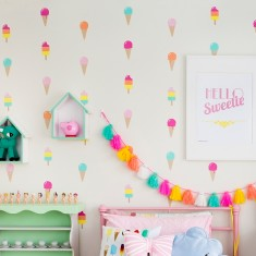 Ice cream dream wall decal