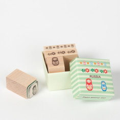 Petit Stamp Set - Matryoshka Doll