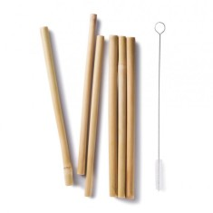 Bambu - Bamboo Straws (Set of 6)