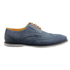 Brogue gunmetal men's shoe