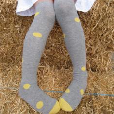 Kids' long socks in spot