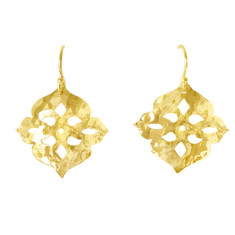 Thai princess 18kt gold plated earrings