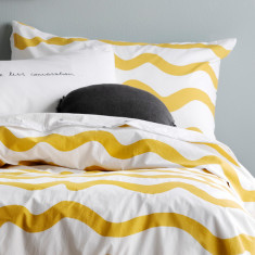 Mustard Wiggles Pillowcase