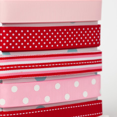 Ribbon Card - Pretty Stripe