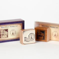 Vintage Stamp Set - Eiffel Tower