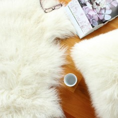 Mongolian Sheepskin Throw